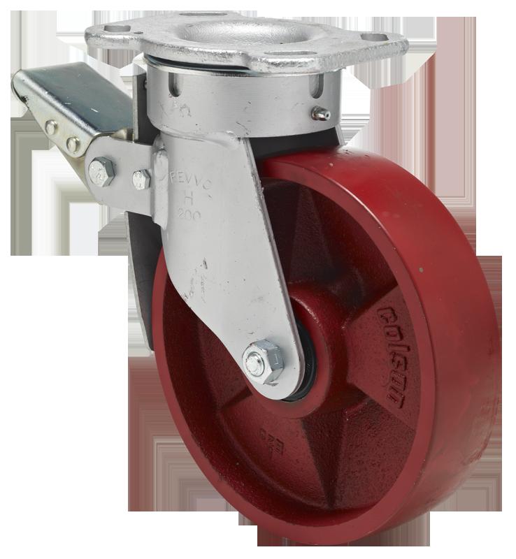 capacidad de carga: 60 kg rodamiento de bolas rueda de 150 mm neum/áticos de aire Rueda giratoria con bloqueo