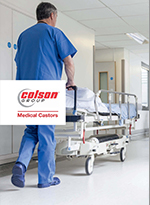 Colson Group Europe Medical Castors